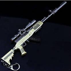 Снайперская винтовка из игры PUBG SKS Брелок