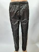 Спортивные штаны плащевка / L, XL черные