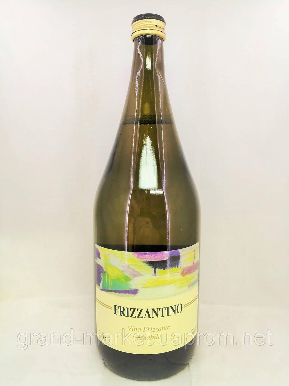 Вино ігристе Frizzantino Bianco Grandi Vini, 1,5 l