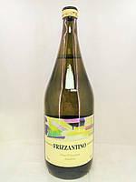 Вино ігристе Frizzantino Bianco Grandi Vini, 1,5 l, фото 1