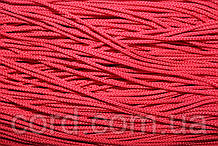 Шнур круглый 2мм 100м красный