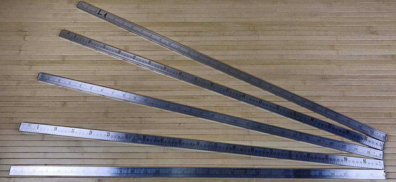 Алюмінієва лінійка 1м