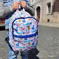 Рюкзак детский Light Собачки 22х28х12 см (RDL_20A024_SI)