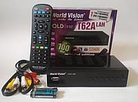 Телевизионная приставка (тюнер) Т2 World Vision T62A Lan