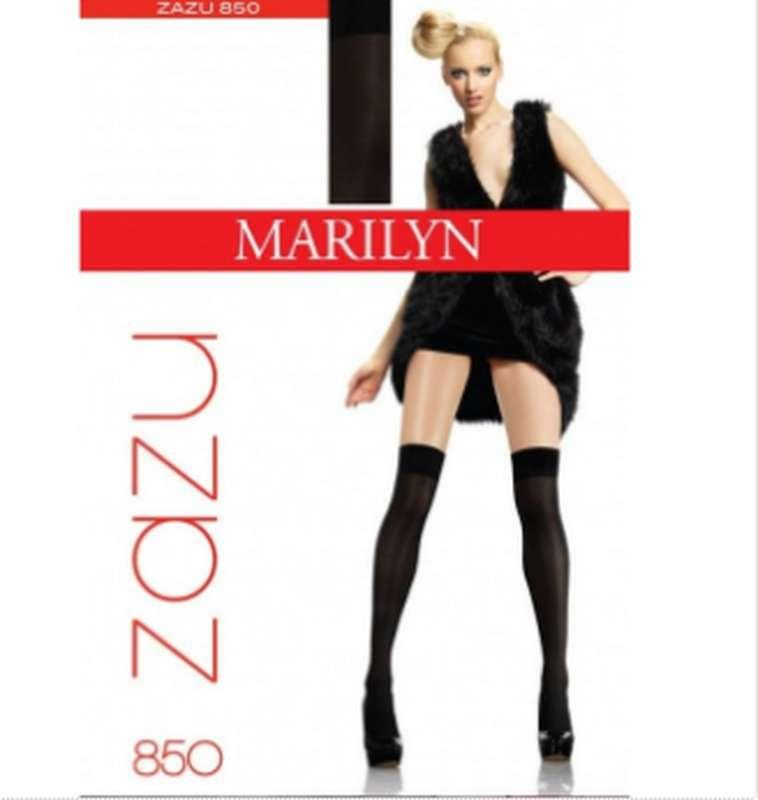 Заколенки подростковые капроновые, 40den Marilyn