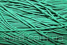 Шнур круглый 2мм 100м зеленый