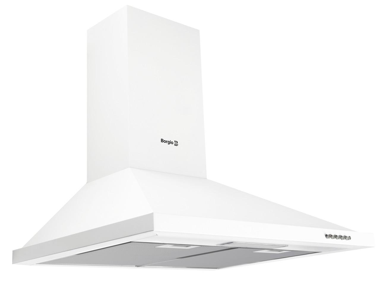 Кухонна витяжка купольна біла BORGIO BKS (TR) 60 White