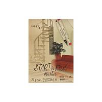 Склейка для маркеров Smiltainis Start А5, 70 г/м2, 20 л (5MS-20)