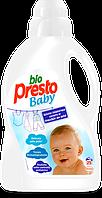 Гель для стирки Bio Presto Baby детский 25 стирок, 1500мл