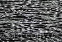 Шнур круглый 2мм 100м хаки + серебро
