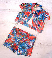 Детский костюм, шорты и пиджак