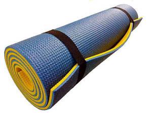 Каремат Verdani Альпинист 1800х600х12 мм Желто-синий