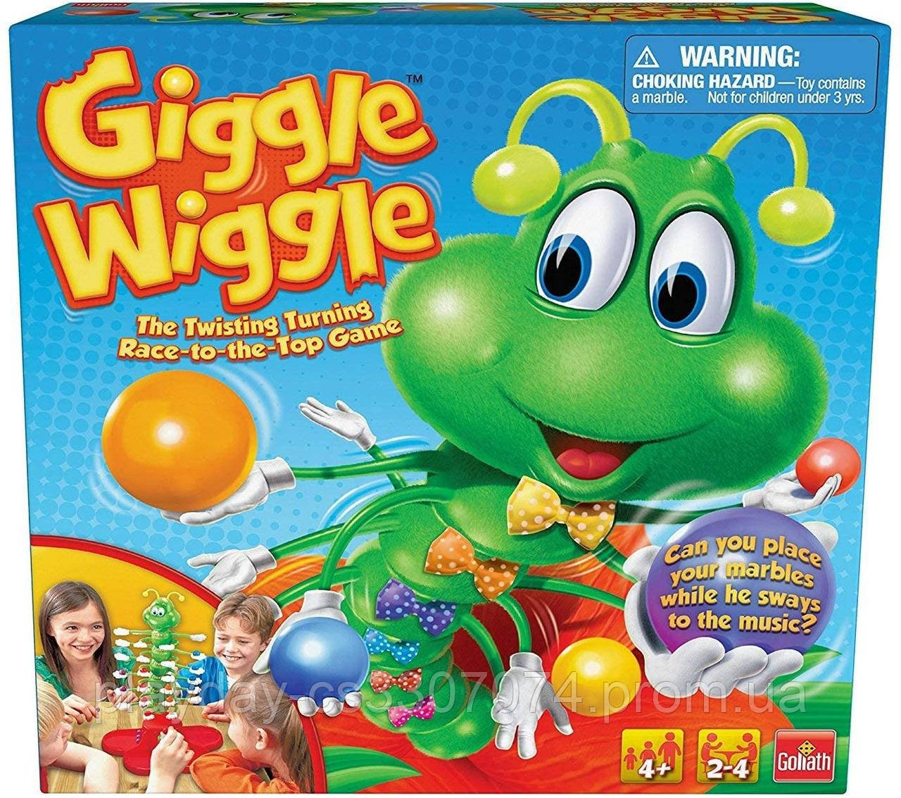 "Настольная игра ""Танцующая гусеница"" Giggle Wiggle от Goliath games"