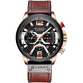 Наручные часы мужские CURREN 8329 кварцевые Brown (4242-12641)