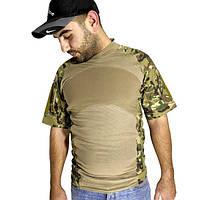 Тактическая футболка с коротким рукавом ESDY A424 размер M Камуфляж (4253-12499)