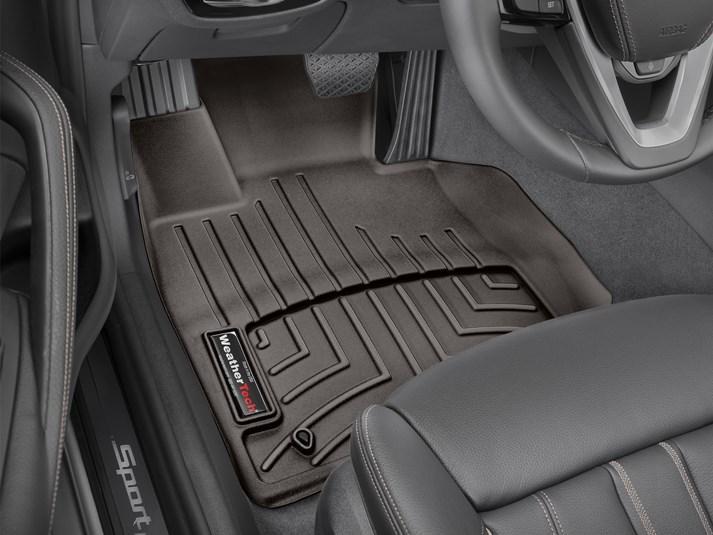 Ковры резиновые WeatherTech BMW 5 (G30/G31) 17+ передние какао