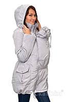 Демисезонная универсальная слингокуртка 4 в 1. Серый