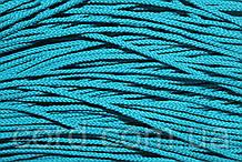 Шнур круглый 2мм 100м мор.волна