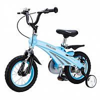 """Детский велосипед 12"""" MIQILONG MQL-SD голубой"""