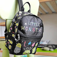 Рюкзак детский Light Little monster 22х28х12 см (RDL_20A007_BL)