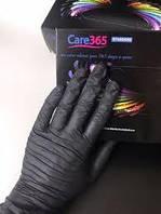 Перчатки нитрил черные M