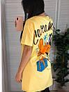 Футболка oversize оверсайз с мультяшным принтом Daffy Duck, фото 4