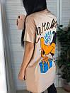 Футболка oversize оверсайз с мультяшным принтом Daffy Duck, фото 9