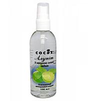 Натуральний дезодорант Алуніт спрей з ефірним маслом Лайма