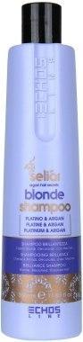 Шампунь для світлого і фарбованого волосся Echosline Seliar Blond Shampoo_350 мл