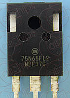 IGBT NPN 660В 75А ONS NGTB75N65FL2WG TO247