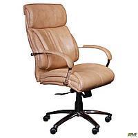 Кресло офисное AMF Аризона Anyfix Мадрас Голд бежевое, фото 1