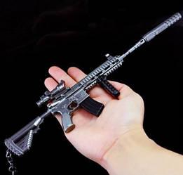 Cнайперская винтовка из игры PUBG M416 Брелок (Черный)