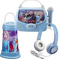 Микрофон eKids Disney Frozen 2, Караоке + Портативный ночник + Наушники