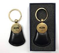 Автомобильный брелок на ключи черный  Форд FORD