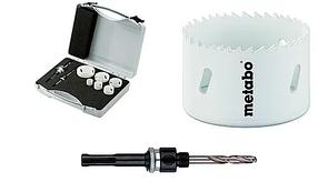Bi-Metall коронки по металлу и дереву Metabo