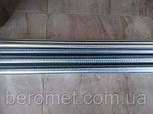 Шпилька різьбова М22х1000, кл.міцн. 8.8, DIN 975, оцинкована