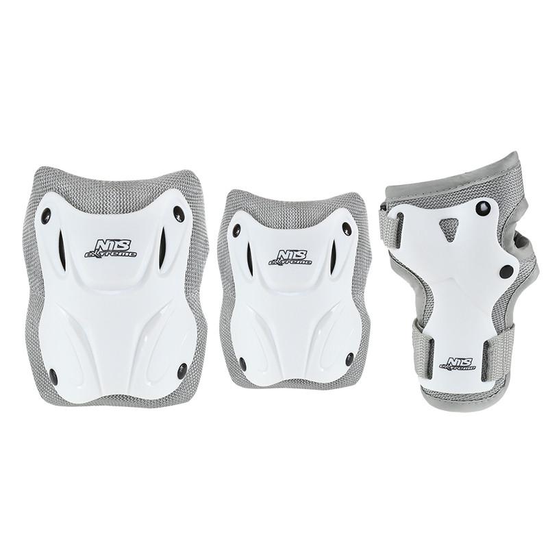 Комплект защитный Nils Extreme H407 Size M White/Grey