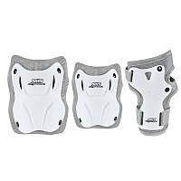 Комплект защитный Nils Extreme H407 Size M White/Grey, фото 1