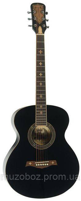 Акустическая гитара Crusader СF-6001 FM BK