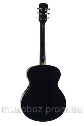 Акустическая гитара Crusader СF-6001 FM BK, фото 2
