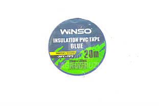 Ізоляційна ПВХ стрічка синя 19мм, l=20m Winso izol Winso