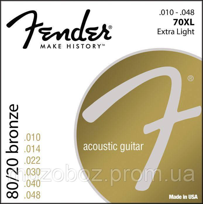 Струны Fender 70 XL
