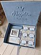 """Шкатулка для новорожденных """"Мамины сокровища"""" с фотоальбомом и коробочками для памятных вещей, фото 6"""