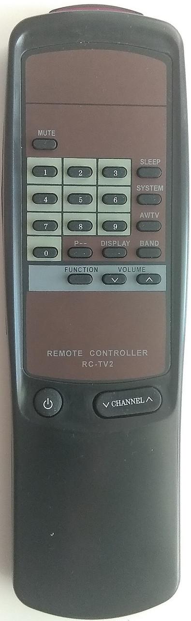 Пульт для телевизора AIWA. Модель RC-TV2