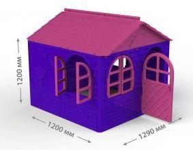 Домик со шторками Doloni фиолетовый (02550)