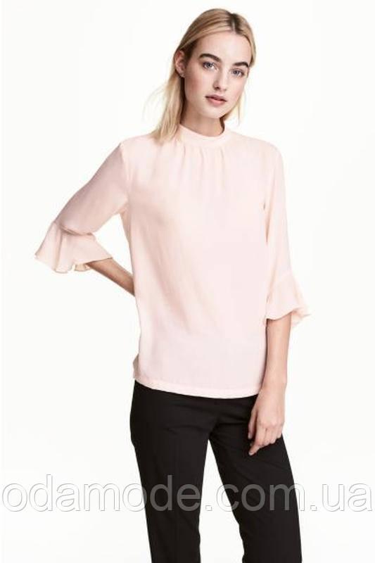Блуза жіноча персикова H&M