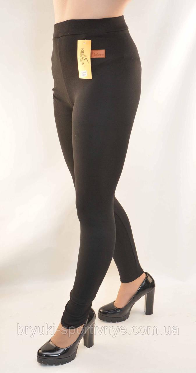 Лосіни жіночі трикотажні Kakamee M/L чорні
