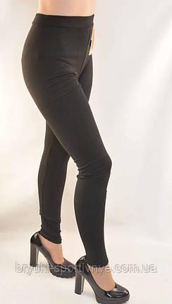Лосіни жіночі трикотажні Kakamee M/L чорні, фото 2