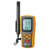 Измеритель влажности и температуры (термо-гигрометр) цифровой, термопара 0-100%, -10-50°C BENETECH GM1361