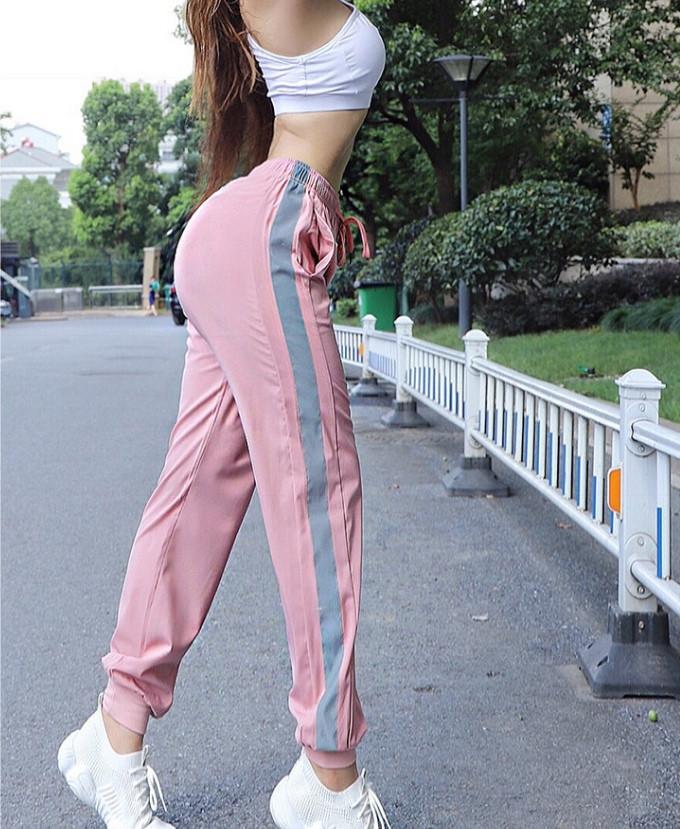 Спортивные штаны розовые 4269